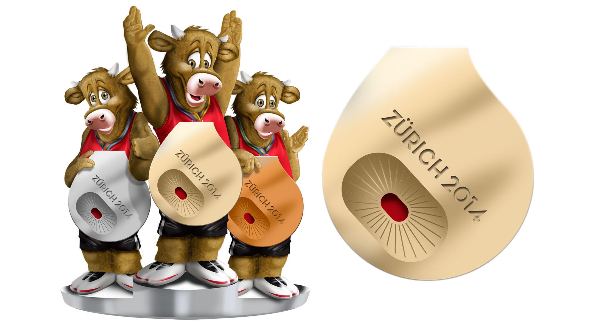 Hard Set Graphics for BBC Sport European Athletics Championships 2014