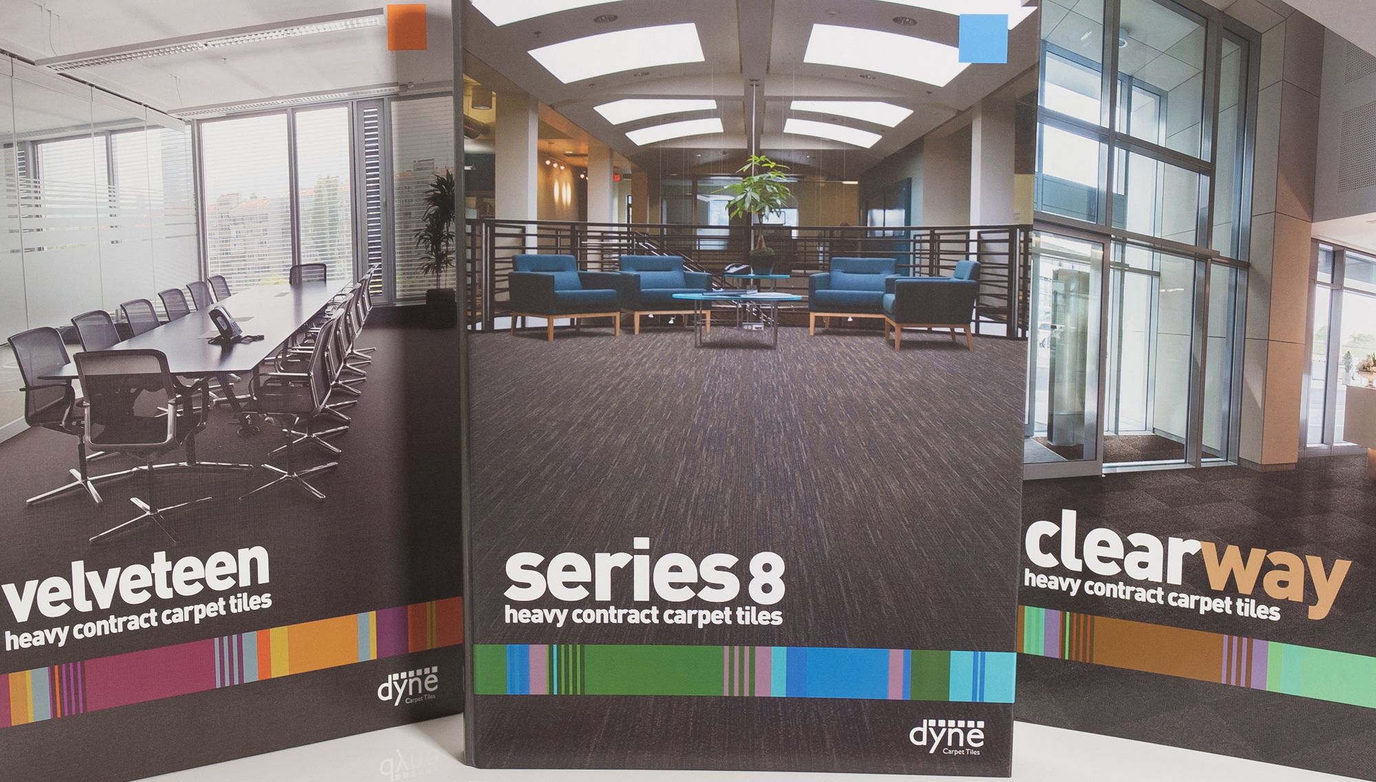 Sample Books for Dyne Carpet Tiles