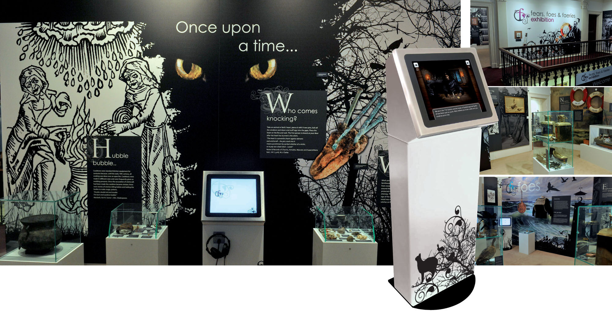 Exhibition Wall Graphics for Scarborough Museum Trust