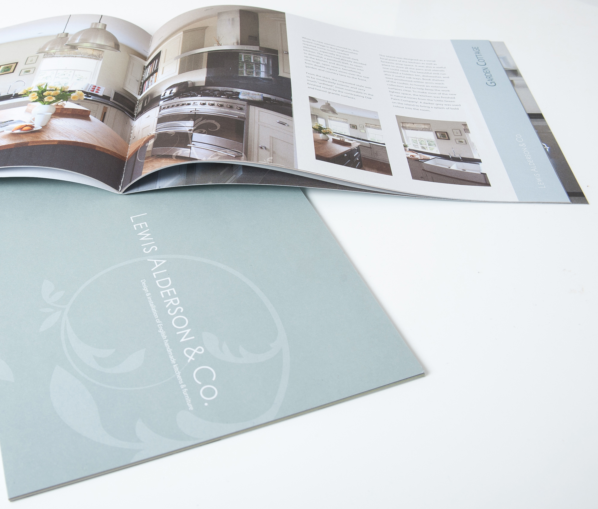 Brochure Design for Lewis Alderson & Co