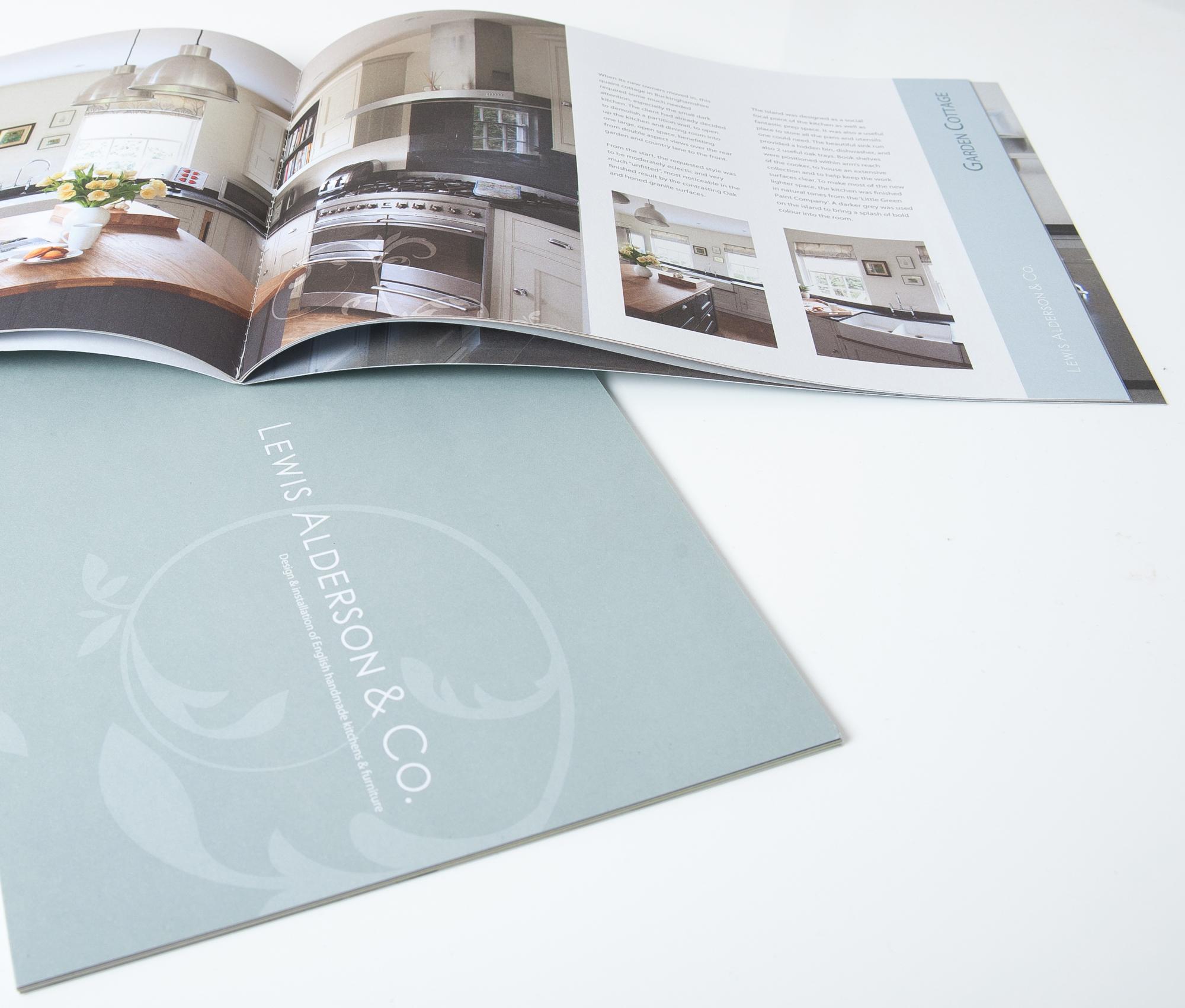 Brochure Design for Lewis Alderson & Co