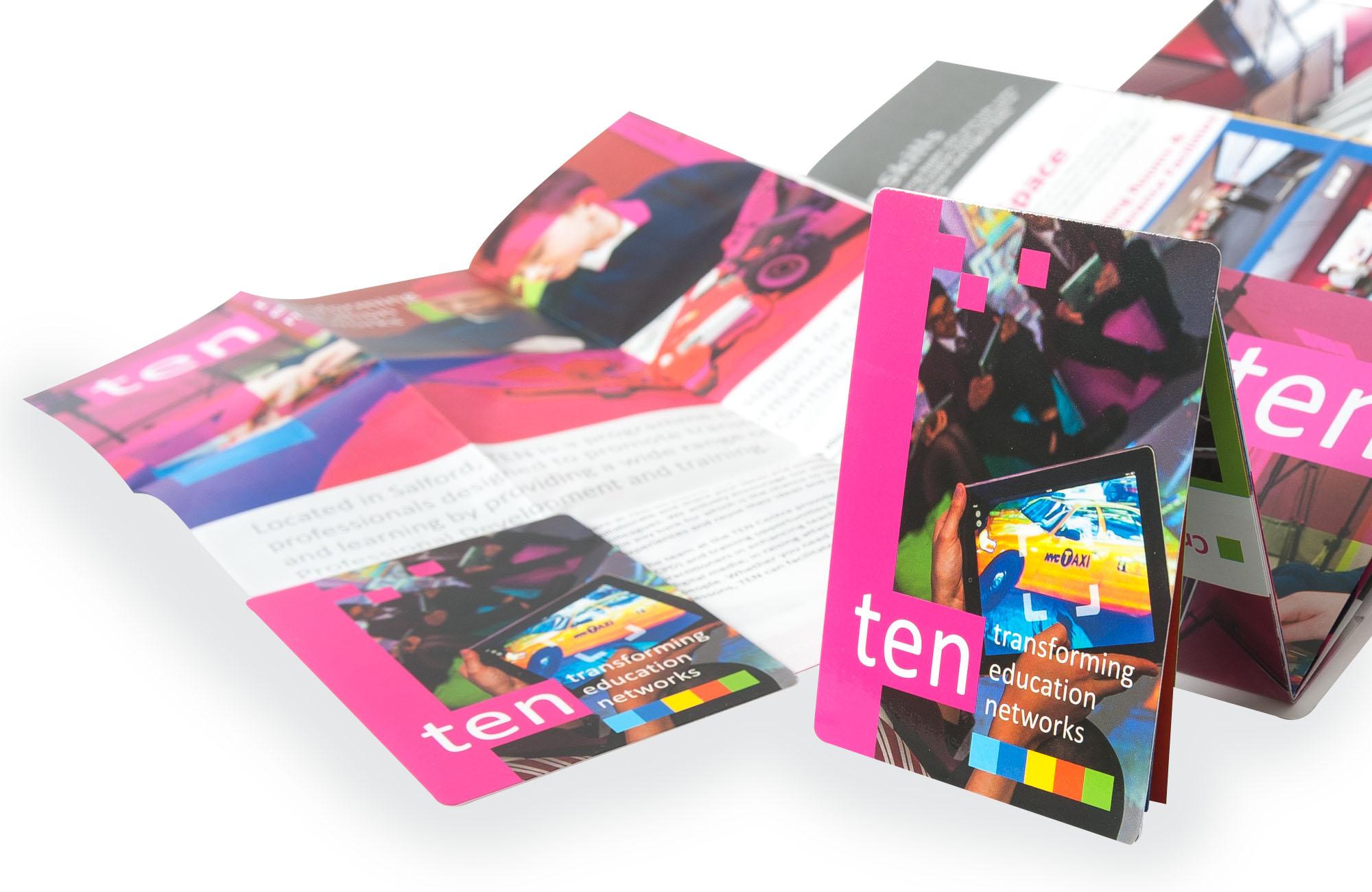 Z Card Design for Ten Centre
