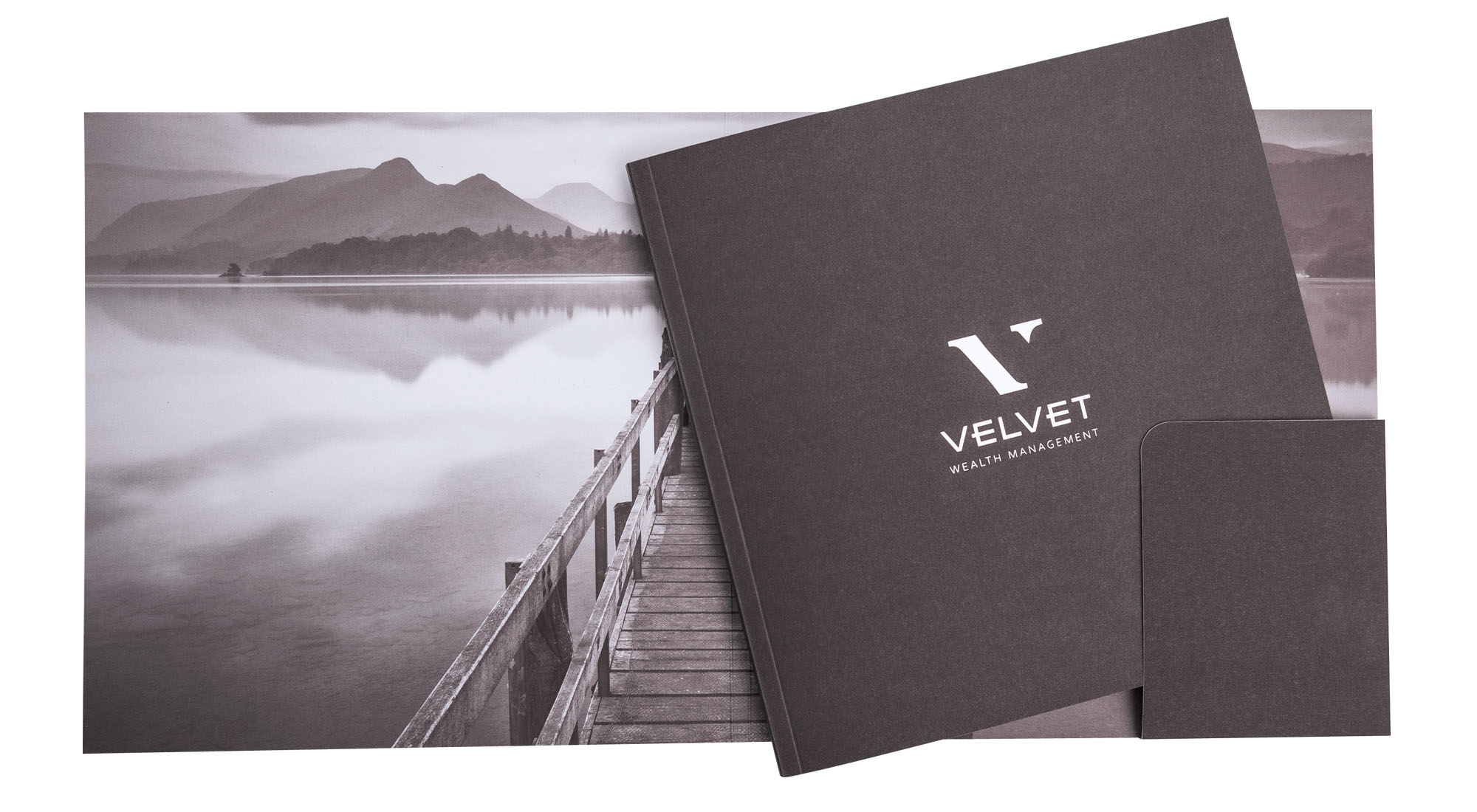Booklet Design for Velvet Wealth Management