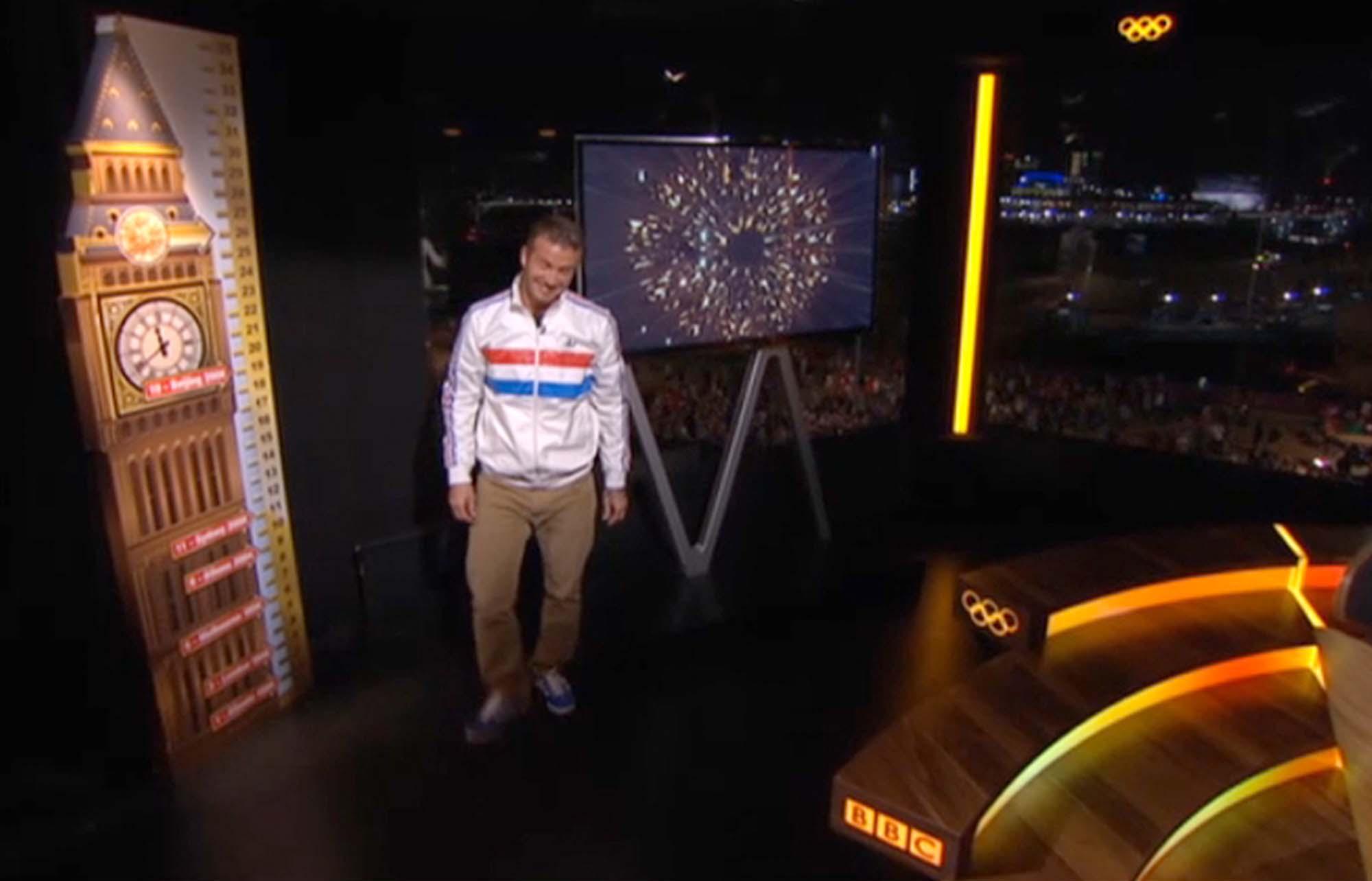Tv Studio Set for BBC Sport London Olympics