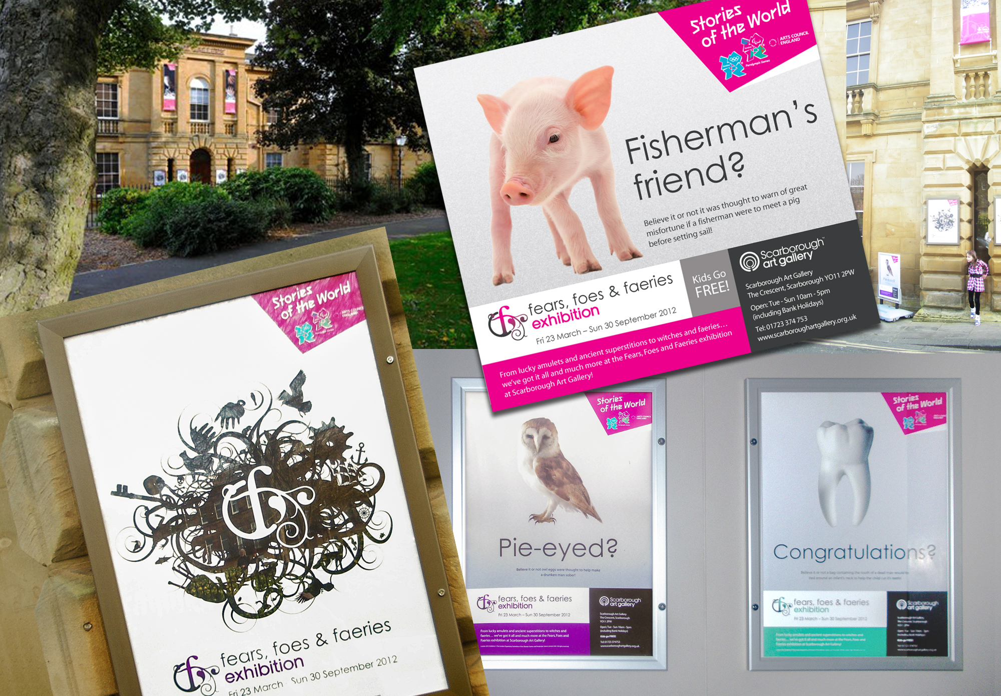 Marketing Materials for Scarborough Art Gallery